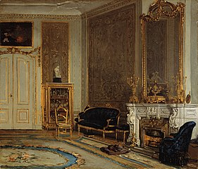 A Room in the House of Louisa and Abraham Willet-Holthuysen, Herengracht 605