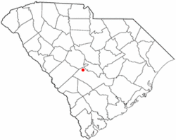 Location in Orangeburg County, South Carolina