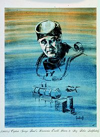 SEALAB's Poppa Topside and father of saturation diving, George F. Bond.jpg