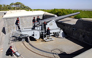 Puerto Belgrano Naval Base - Krupp 240mm gun, Battery nº 4, Puerto Belgrano