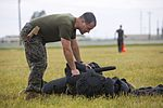 SPMAGTF-CR-AF Marines conduct non-lethal weapons training (Image 1 of 31) 160506-M-QM580-130.jpg