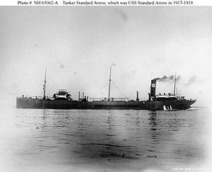 USS Standard Arrow (ID-1532) - Image: SS Standard Arrow (1916)