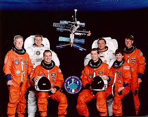 STS-86 - Image: STS 86 crew
