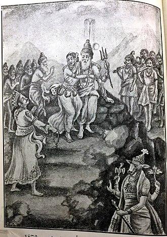 Manu (Hinduism) - SUDYUMNAN SEES RUDRA AND PARVATI