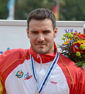 Saúl Craviotto - Craviotto at the 2013 World Championships