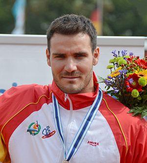 Saúl Craviotto - Craviotto at the 2013 World Championships
