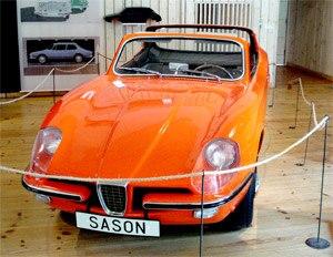 Saab Catherina - Prototype in SAAB museum Trollhättan