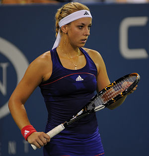 Sabine Lisicki - Lisicki at the 2010 US Open