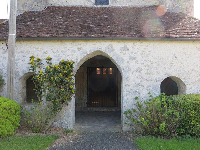 Caquetoire de l'entrée de l'église