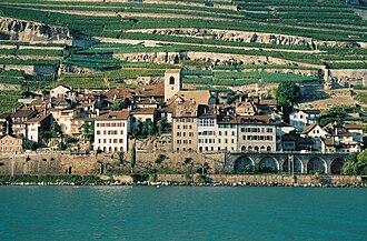 Saint-Saphorin - Saint-Saphorin village