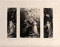 Saint Ildephonsus. Etching by W. Unger after Sir P.P. Rubens Wellcome V0032207.jpg