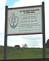 Saint Michael's, Ohaeawai, sign.jpg