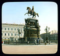 Saint Petersburg. Nicholas I Monument on St. Isaac's Square (Isaakievskaya ploshchad), with the Astoria Hotel behind.jpg