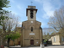 The church of Saint-Christophe-et-le-Laris