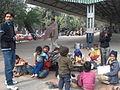 Salaam Baalak Contact Point Platform New Delhi Railway Station.JPG