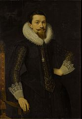 Portrait of Pieter Boudaen Courten (1594-1668)