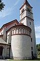 Salzburg - Itzling - Pfarrkirche St. Antonius Ansicht Apsis - 2019 08 01.jpg