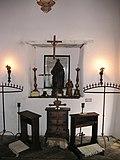 Interne de la Palaco de Spanish Governor en San Antonio, Teksaso