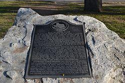 San gabriel park plaque