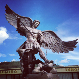 Madrid, Cundinamarca - Image: San miguel arcangel