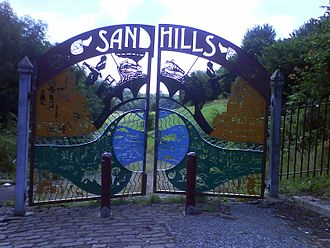 Collyhurst - Entrance to Sandhills