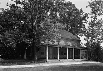 Sandy Spring Friends Meetinghouse - Sandy Spring Friends Meeting House in 1936
