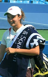 Sania Mirza in 2007