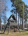 Sankt Olofs kyrka Täby klockstapel.jpg