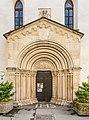 Sankt Veit an der Glan Stadtpfarrkirche hl Dreifaltigkeit W-Portal 18052018 3281.jpg