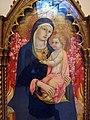 Sano di pietro, madonna col bambino e i santi giacomo maggiore e giovanni evangelista, 1450 ca. 02.JPG