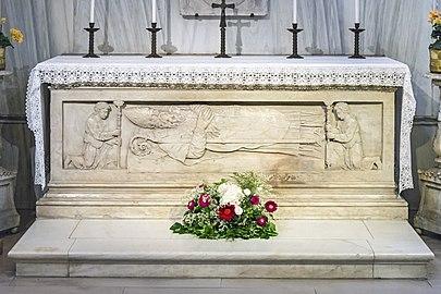Santa Giustina (Padua) - The Shrine of Saint Prosdocimus - tomb of Saint Prosdocimus