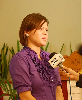 Davaoeño people - Image: Sara Duterte