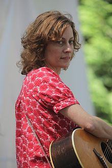 Sarah Harmer at the 2010 Vancouver International Folk Music Festival