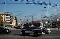 Sarajevo Tram-215 Line-3 2011-10-31.jpg