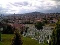 Sarajevo graveyard 2007.jpg