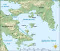 Saronic Gulf map-de.svg