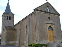 Sarry (Saône-et-Loire) l'église.JPG