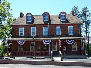 Douglass Township, Montgomery County, Pennsylvania - Image: Sassamansville Post Office, Mont Co PA 01