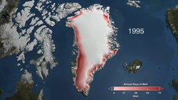 Tiedosto:Satellite measurements of Greenland's ice cover from 1979 to 2009 reveals a trend of increased melting.ogv