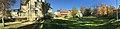 Scandic Meyergården hotel, Museumsparken, Mo i Rana, Norway, 2017-10-09 - distorted panorama.jpg