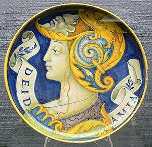 Deidamia (mythology) - Schale Deidamia KGM 17-39