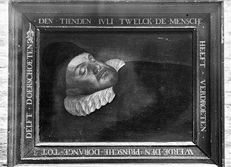 Mourning portraits - Image: Schilderij, Prins Willem I Zaltbommel 20219641 RCE