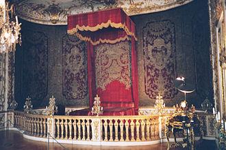 François de Cuvilliés - State bedroom of the Bavarian elector, Munich Residence