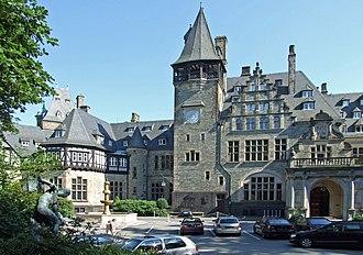 Donatus, Landgrave of Hesse - Image: Schlosshotel kronberg 003
