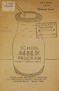 Special Milk Program U.S. federal aid program