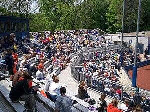 Schoonover Stadium - Main seating area in 2010