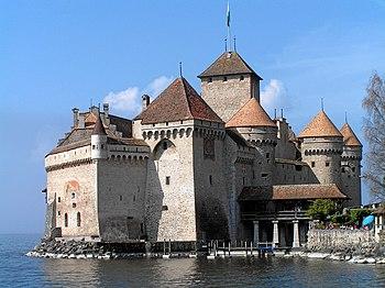 Vista general del castillo