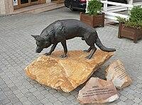 Sculpture mancsdog miskolc.jpg