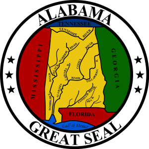 English: Great Seal of The State of Alabama