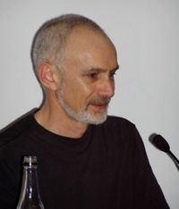 Sean McMullen at the 63rd World Science Fiction Convention in Glasgow, August 2005
